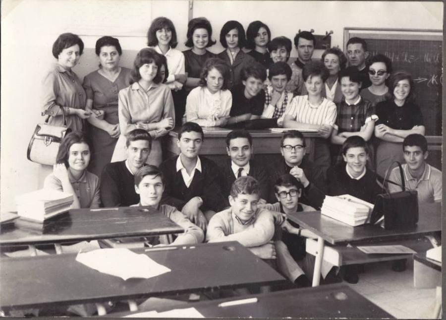 Liceo Mameli Roma I A anno 1962-63